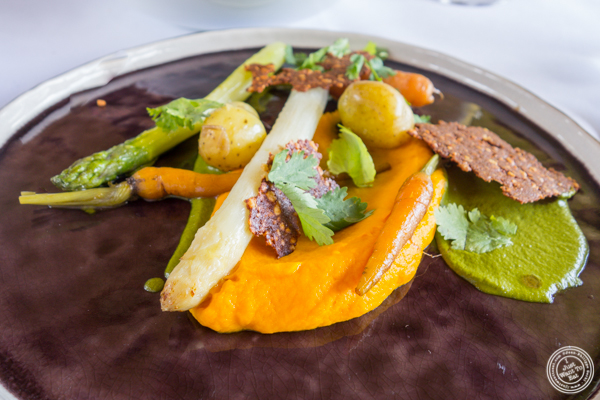 Vegetable plate at La Corne D'Or in Corenc, France