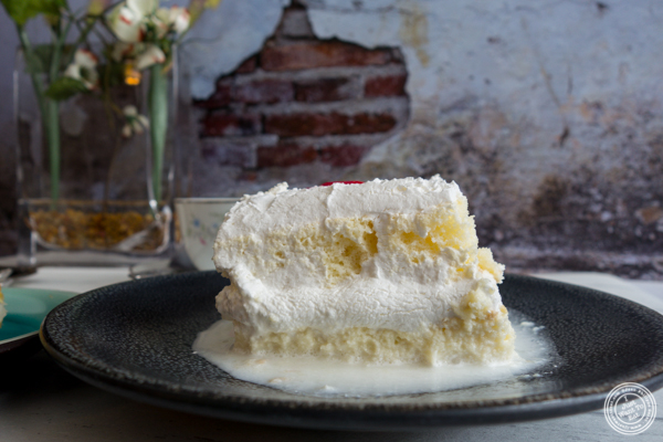 Tres leches at Cuba Bakery in Union City, NJ