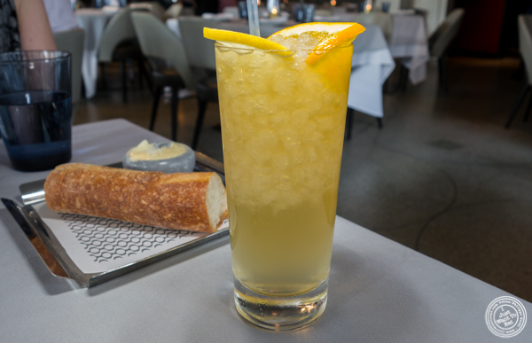 Pioneer cocktail at La Sirena in NYC, NY
