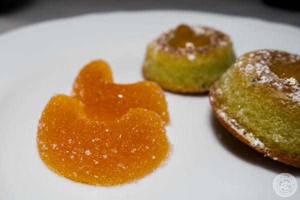 Fruit jellies at La Sirena in NYC, NY