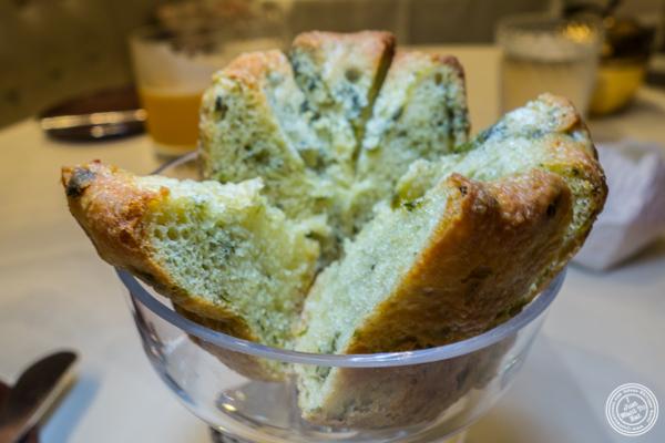 Kougelhopf bread at Gabriel Kreuther in NYC, NY