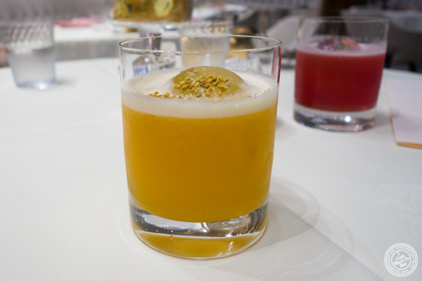 The Beehive cocktail at Gabriel Kreuther in NYC, NY