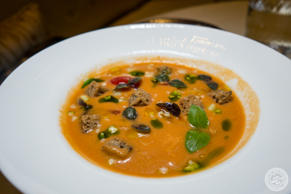 Gazpacho at Gabriel Kreuther in NYC, NY