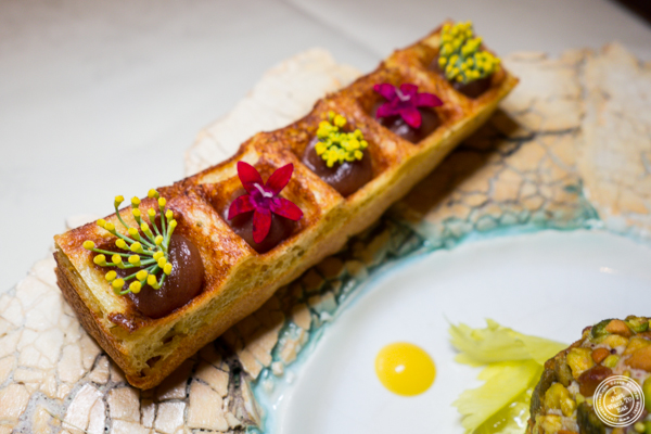 Foie gras mille-feuille at Gabriel Kreuther in NYC, NY