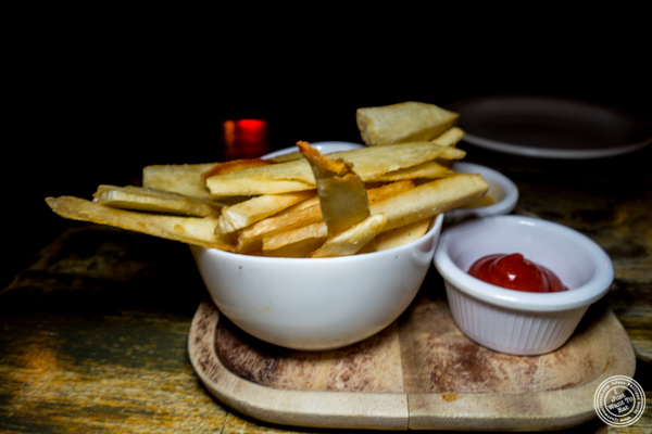 Yucca fries at Calle Dão in NYC, NY