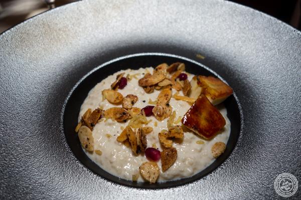 Rice pudding at Junoon in NYC, NY