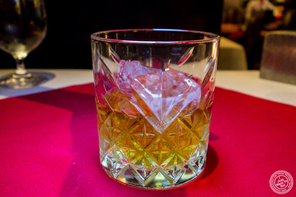 Whisky Rozelieures at Café Boulud in NYC, NY