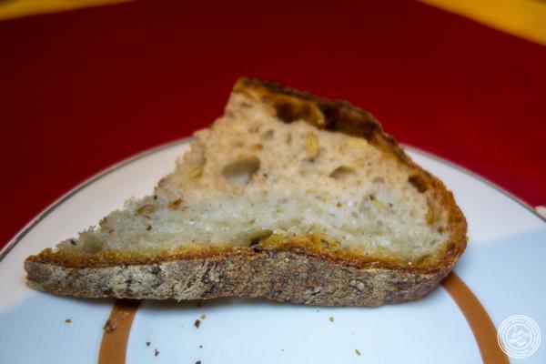 Pumpkin bread at Café Boulud in NYC, NY