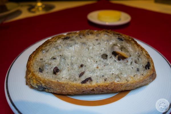 Rosemary bread at Café Boulud in NYC, NY