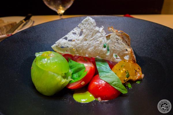 Tomato salad at Café Boulud in NYC, NY