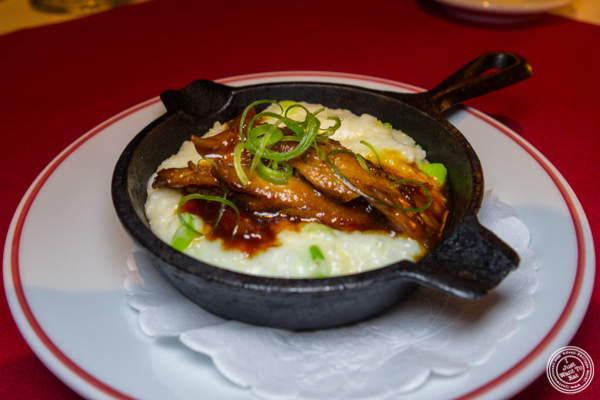 Grits at Café Boulud in NYC, NY