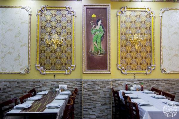 Dining room at U Yuri Fergana in Rego Park, Queens