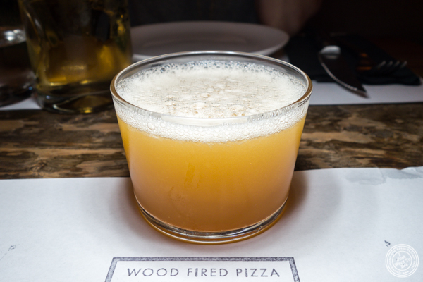 Scuro cocktail at PN Wood Fired Pizza in NYC, NY