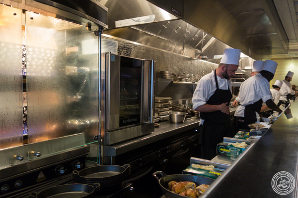 Kitchen at Le Coq Rico in NYC, NY