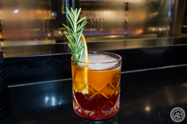 Old fashioned at Le Coq Rico in NYC, NY
