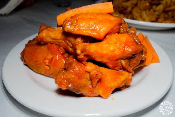 Hot wings at Blondie Sports on the Upper West Side