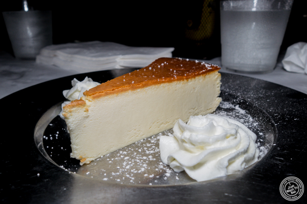 Cheesecake at Blondie Sports on the Upper West Side