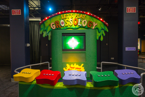 Grossology exhibit at The Liberty Science Center in Jersey City