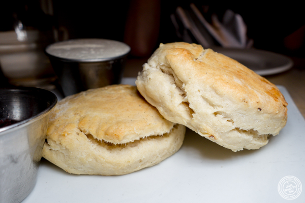 Biscuits at The Marshall in Hell's Kitchen