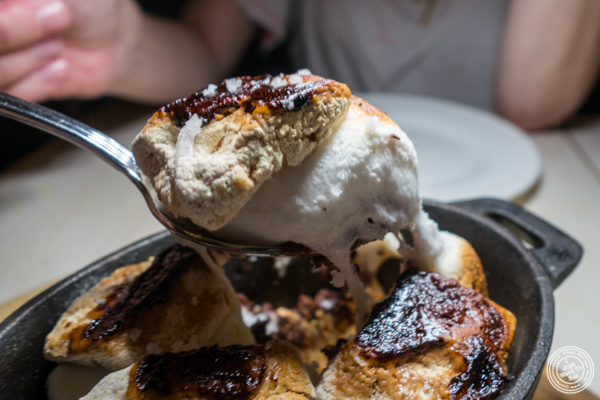 S'mores at The Marshall in Hell's Kitchen
