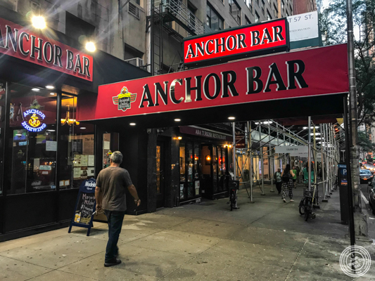 Anchor Bar in NYC, NY