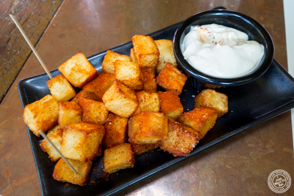 Patatas bravas at Cata on the Lower East Side
