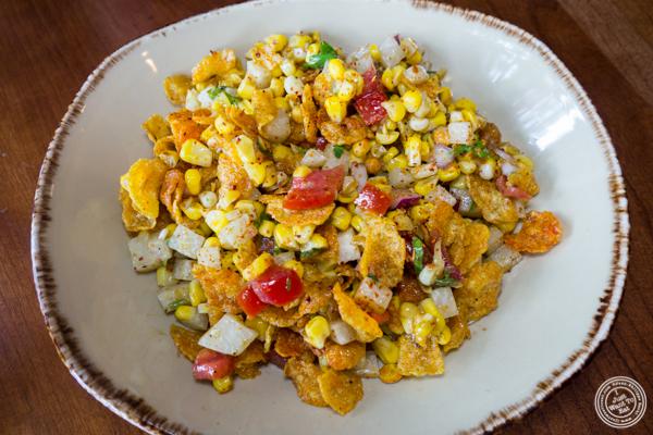 Corn bhel at Soul Curry in Hoboken, NJ