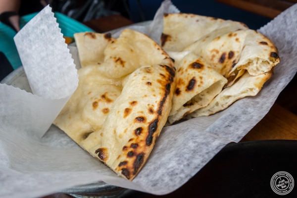 Naan at Soul Curry in Hoboken, NJ