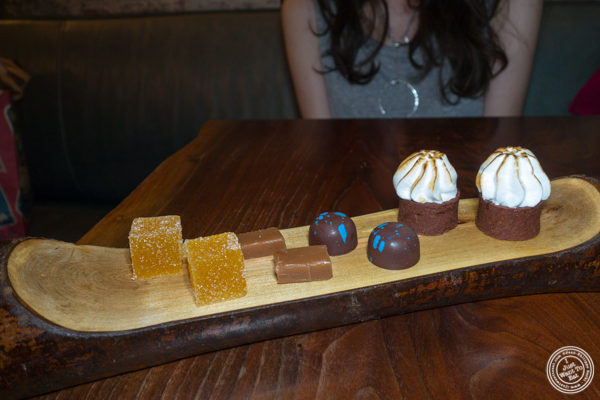 Treats at The Musket Room in NYC
