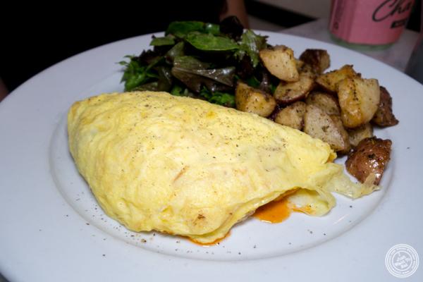 Ratatouille omelet at La Bergamote in Chelsea