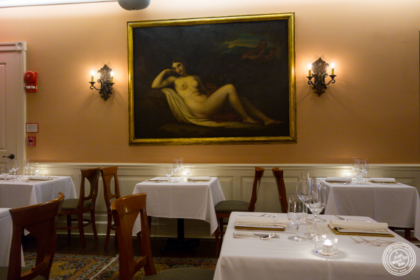 Dining room at Elizabeth's Gone Raw in Washington DC