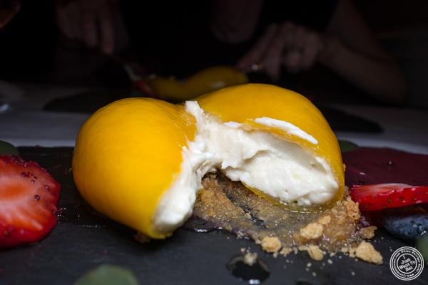Meyer lemon confit at Elizabeth's Gone Raw in Washington DC