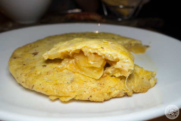 Tortilla at Jaleo in Washington DC