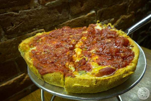Pizza at Pi Pizzeria in Washington DC