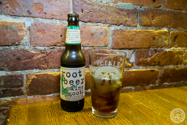 Root beer at Pi Pizzeria in Washington DC
