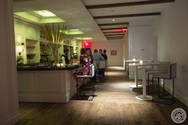 Bar area at Kinship in Washington DC