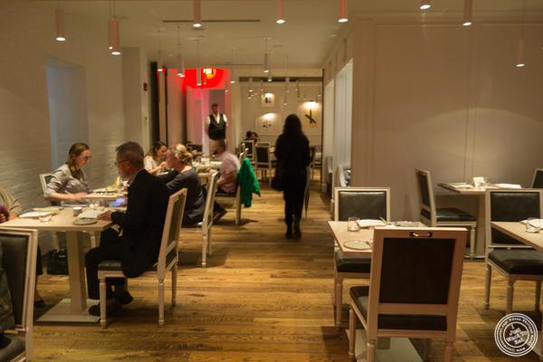 Dining room at Kinship in Washington DC