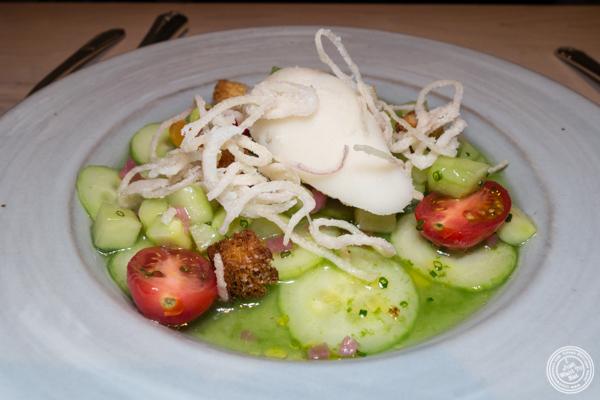 Tunisian salad at Kinship in Washington DC