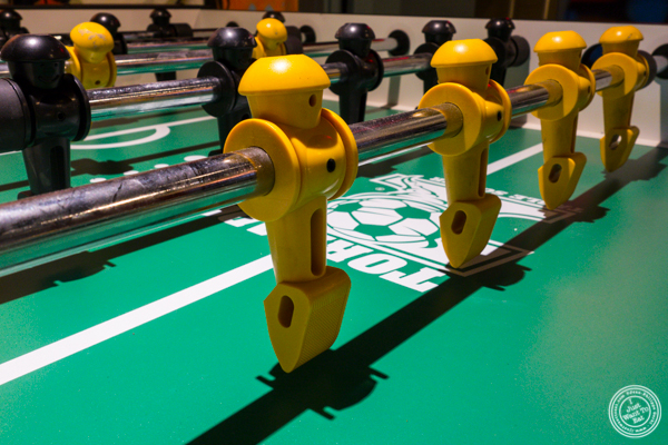 Foosball at American Hall Beer and Arcade in NYC, NY