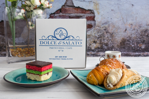 Pastries from Dolce & Salato in Hoboken, NJ