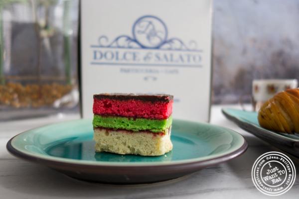 Rainbow cookie - Dolce & Salato,Hoboken, NJ