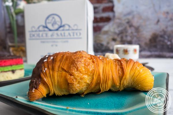 Lobster tail at Dolce & Salato in Hoboken, NJ