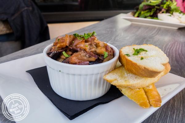 Eggplant caponata at Dolce & Salato in Hoboken, NJ