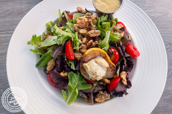 Pear and goat cheese salad at Dolce & Salato in Hoboken, NJ