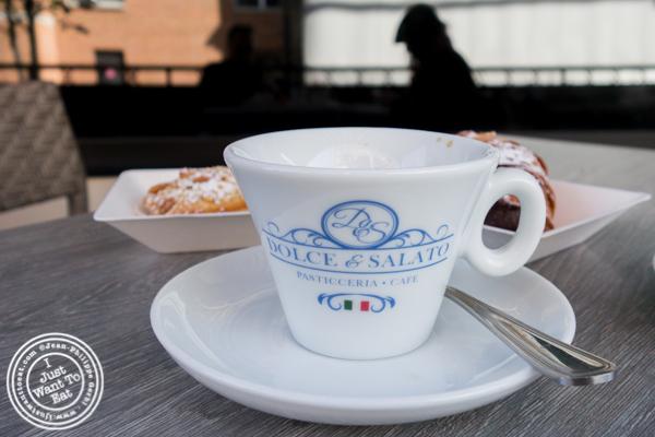 Espresso at Dolce & Salato in Hoboken, NJ