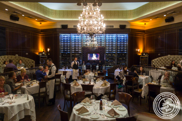 Dining room at Empire Steakhouse in NYC, NY