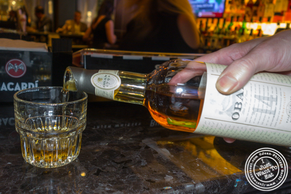 Scotch Oban 14 y/o at Empire Steakhouse in NYC, NY