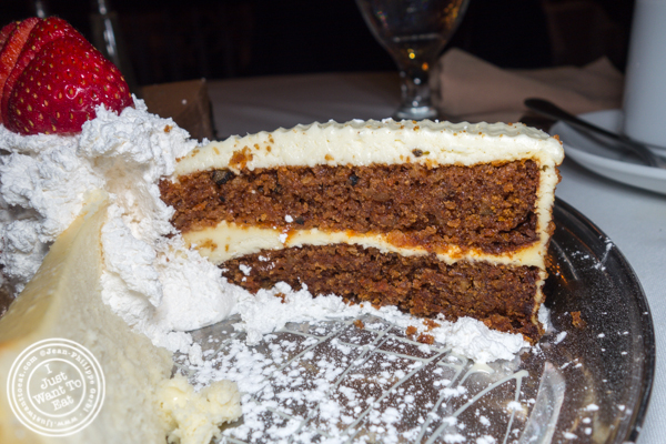 Carrot cake at Empire Steakhouse in NYC, NY