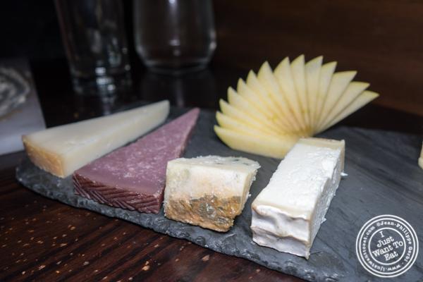 Cheese plate at Salinas in NYC, NY