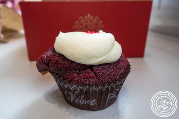 Red Velvet cupcake at Red Velvet Cupcakery in Washington DC